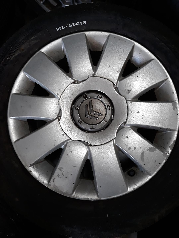 4 roues aluminium citroen 185 65 15 france europe automobiles casse auto. Black Bedroom Furniture Sets. Home Design Ideas